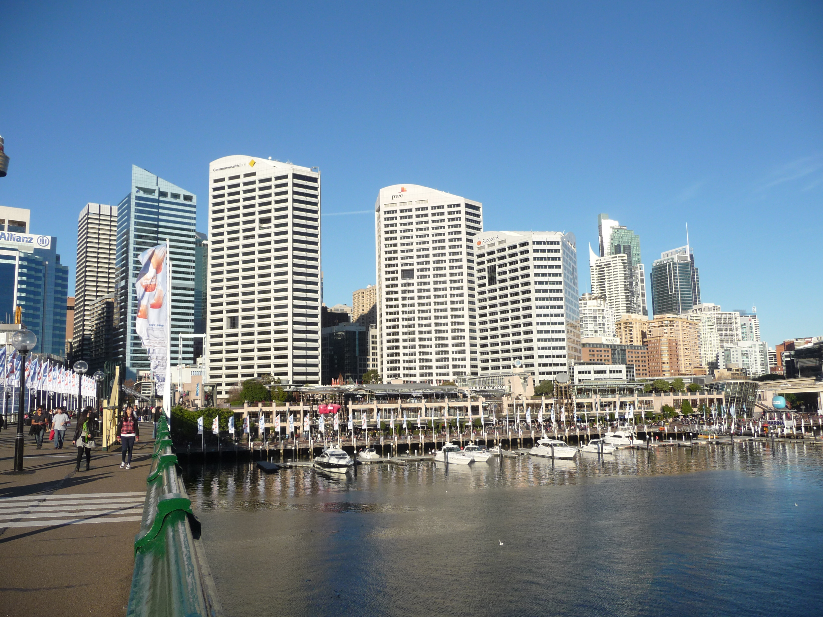 Markus Holtermann Sydney Tower And Darling Harbour